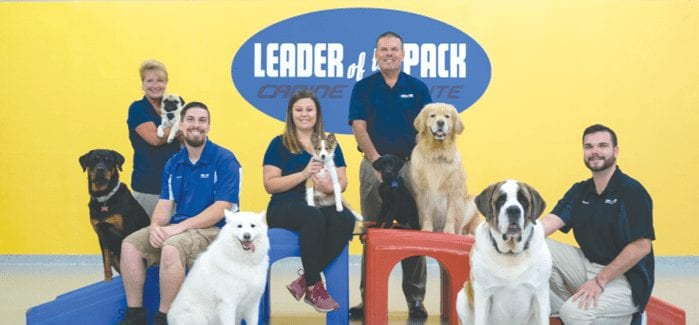 Reader's Choice family photo of Leader of the Pack Canine Institute